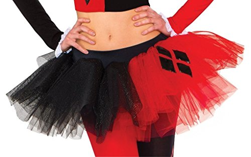Rubie's 38008 Women's Harley Quinn Costume, Standard/One Size, Multicolor ()