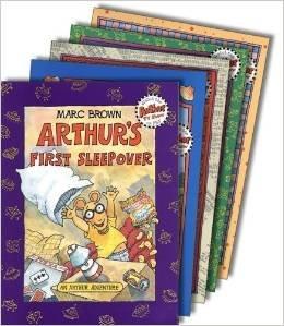 Book Set for Kids (6): Arthur's Baby; Arthur's Christmas; Arthur's Halloween; Arthur & the True Francine; Arthur's Valentine (PBS Arthur -