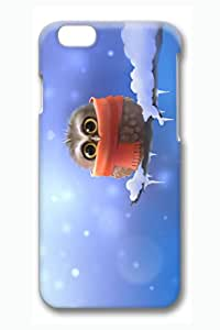 iPhone 6 plus Case, 6 plus Case - Fashion Design 3D Print Case Bumper for iPhone 6 Lovely Owl Perfect Fit Case Cover for iPhone 6 plus 5.5 Inches