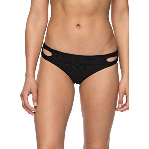 Roxy Women's Beauty 70's Bikini Bottom Anthracite - Bottom Swimwear Roxy 70's