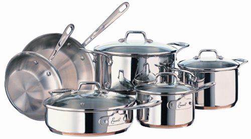 Emeril Stainless 10 Piece Cookware Set