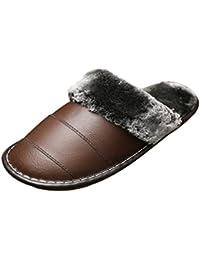 Foncircle Childrens Plush Fur PU Leather Warm Snow Boots Short Boots Shoes