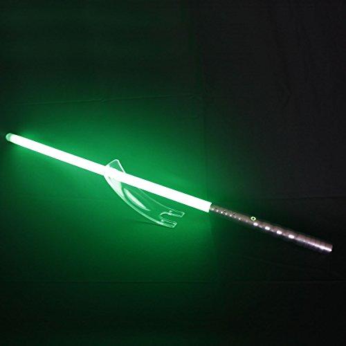 YDD Star Wars lightsaber, The Black Series Light Up Sword, Upgrade Force FX Light saber green