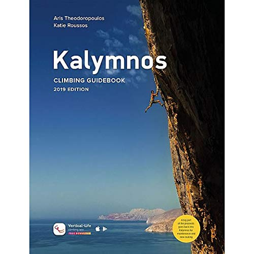 Kalymnos rock climbing guidebook by Terrain Editions