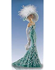 LIUZHI 5D DIY Special-Shape Diamond Painting Dress Lady Gedeeltelijke Boor Strass