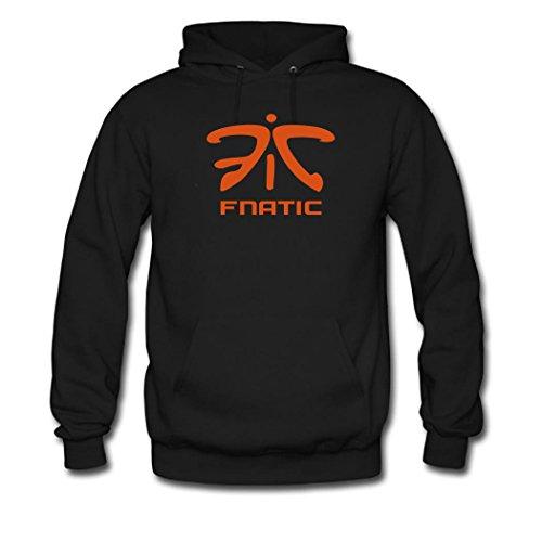 Hot Fnatic Logo For mens Printed Sweatshirt Pullover Hoody