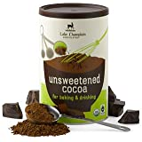 Lake Champlain Chocolates Organic Unsweetened Cocoa (Fair Trade Certified), 10 Ounces
