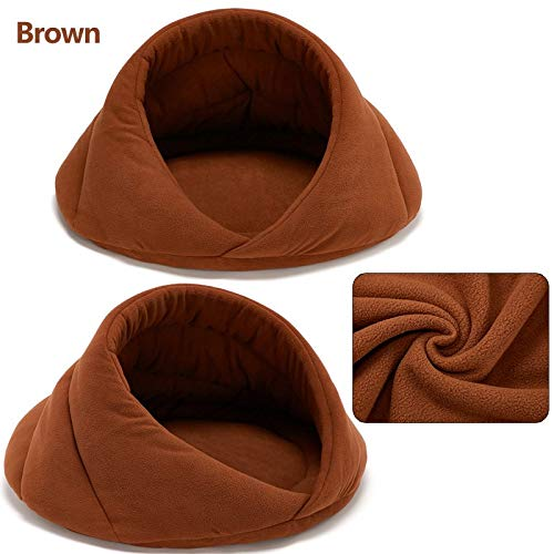 Amazon.com : Dominich Wilson Cat Beds & Mats - Warm Cat Cave House Pet Bed Pet Dog House Soft Pet Dog Cushion Cat Bed House Padded Cat Bed Mat House ...