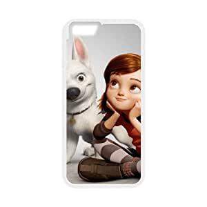 bolt movie iPhone 6 Plus 5.5 Inch Cell Phone Case White custom made pgy007-9995225