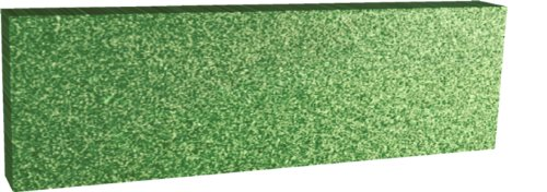 Styrofoam Sheets 10 count 4 inch x 12 inch x 36 inch Green Craft Foam by Dow