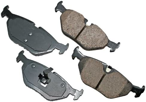 Akebono EUR763 EURO Ultra-Premium Ceramic Brake Pad Set