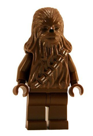 Stars Wars Chewbacca (LEGO Star Wars Minifigure - Chewbacca Reddish Brown)