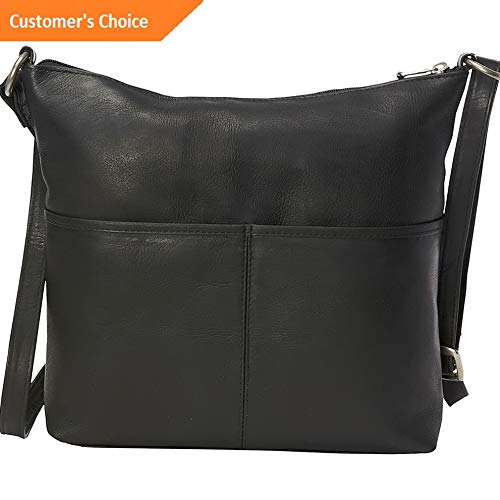 Amazon.com: Sandover Le Donne Leather Carefree Top Zip Tote 3 Colors | Model LGGG - 7113 |: Sandover