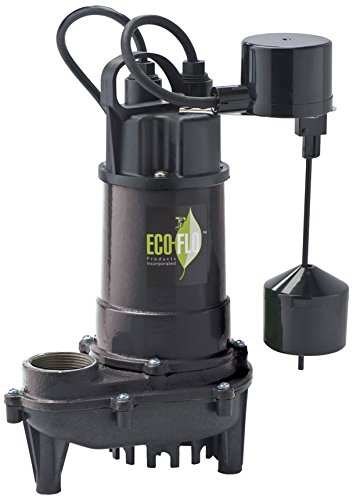 ECO-FLO Products ECD50V Products ECD50V 1/2 HP Submersible Sump Pump by ECO-FLO Products