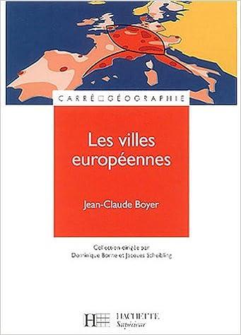 Télécharger en ligne Les villes européennes pdf ebook