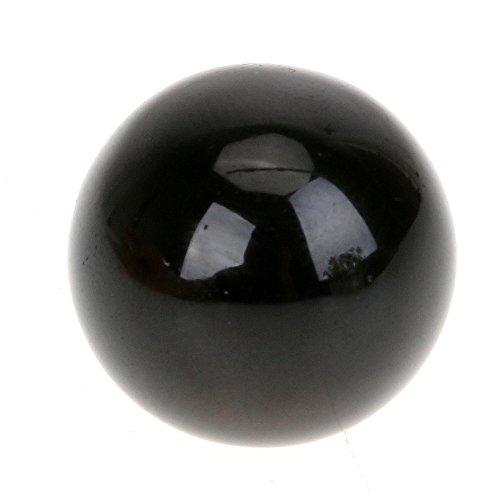 Rock Sphere - Awakingdemi 15mm Natural Obsidian Crystal Ball Sphere DIY Home Decor