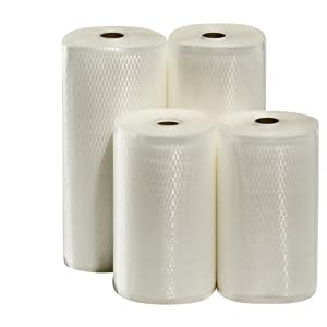 4 Weston Rolls Vacuum Sealer Bags