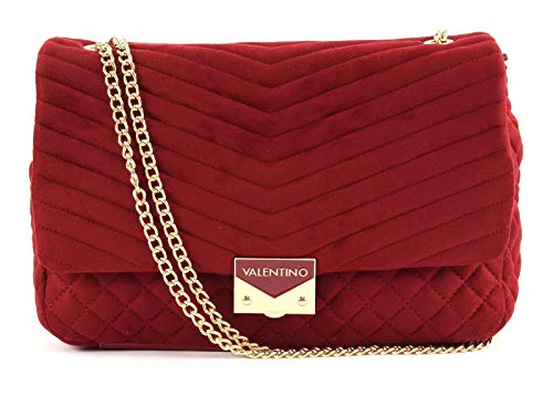 069 Valentino by Women's Mario Ritas Bordeaux Red Bag Body Valentino Cross vv1rT