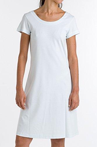 P-Jamas Butterknits Cap Sleeve Nightgown (325660) M/White