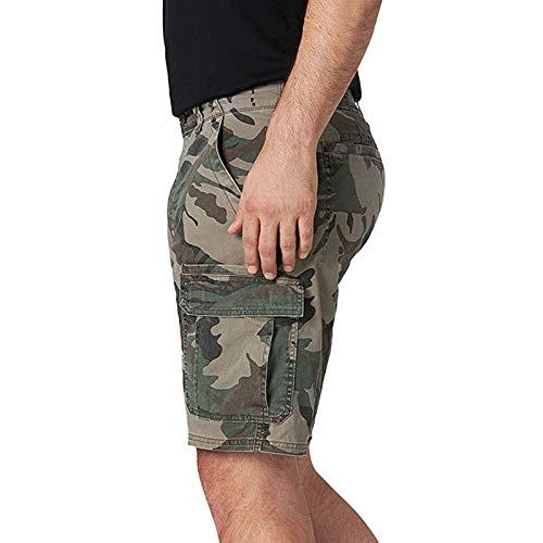 Semoatuc Vintage cargobroek voor heren, korte broek, herenshorts, zomerjoggingbroek, fitnessbroek, sportshorts…