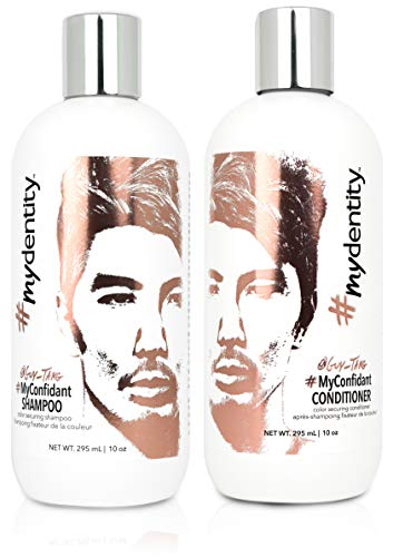 Guy Tang #mydentity #MyConfidant Color Securing Shampoo and Conditioner Duo Set, 10-Ounce ()