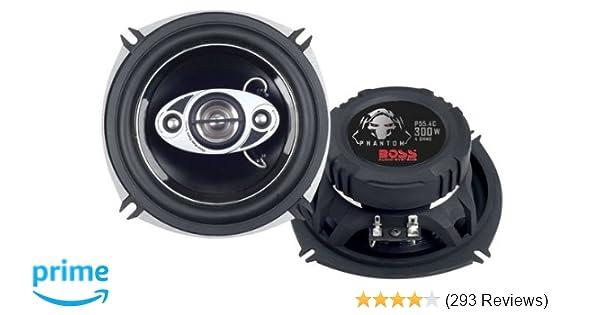 Amazon Com Boss Audio P55 4c 300 Watt Per Pair 5 25 Inch Full