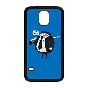 Samsung Galaxy S5 Phone Case Cover Black LAZY OAF EUA15974944 Hard Phone Cases