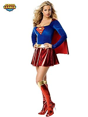 DC Comics Secret Wishes Supergirl Costume by Rubie?s Costume Co