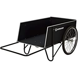 Strongway Yard Cart - 49 1/4in.L x 31in.W, 400-lb, 14 Cu. Ft. Capacity