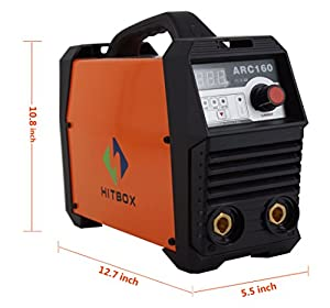 ARC Welder 160A Digital 220V DC Lift TIG Welding Machine with Earth Clamp Electrode Holder Ready to Use. by Shenzhen Unitweld Welding and Motor Co., Ltd.