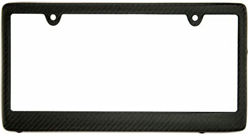 BLVD-LPF OBEY YOUR LUXURY  Real 100/% Matte Black Carbon Fiber License Plate Frame TAG Cover FF Boulevard Los Angeles Inc.