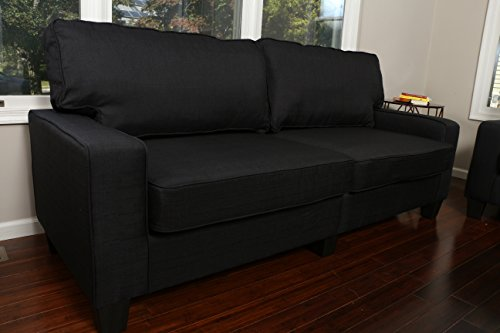Home Life 2-3 Person Apartment Size Contemporary Pocket Coil Hardwood Sofa 281 73