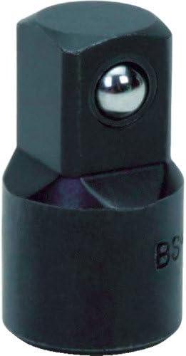 """WILLIAMS 3/8"""" DR ADAPTOR BLACK (BS-130B) 3/8""""ドライブ 3/8F × 1/2M アダプター インダストリアルフィニッシュ JHWBS-130B"""