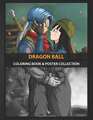 Coloring Book & Poster Collection: Dragon Ball Tribute To Dragon ...