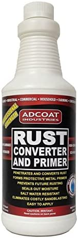 Rust Converter Primer One step Surface