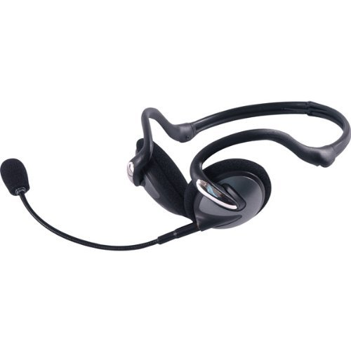 3-in-1 Portable Headset with Detachable Mic