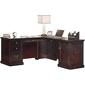 "kathy ireland Home by Martin Fulton 65"" L-Shaped Desk"
