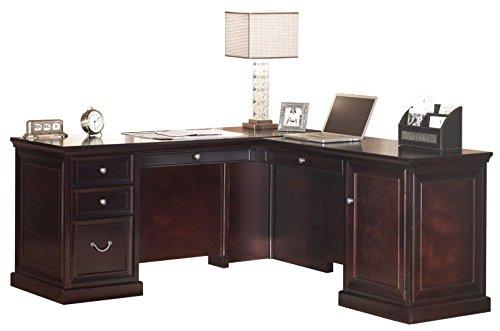 Martin Furniture Fulton 65 L-Shaped Desk, 65