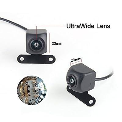 Dasaita 170° Angle HD Fisheye Lens Reversing Camera for Universal Rear View Backup Cams Back up Rearview Cams Reversing Parking Kit: Car Electronics