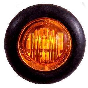 10 3/4u0026quot; Amber Clearance / Marker Lights with 3 LEDu0027s in each light  sc 1 st  Amazon.com & Amazon.com: 10 3/4