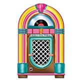 Beistle Jukebox Cutout Party Accessory 3-Feet Tall | Printed on both Sides | (1-Count)