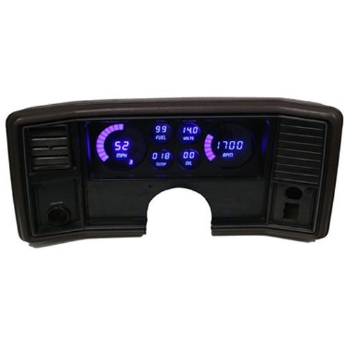 Intellitronix Corp. 1978-1988 Monte Carlo/El Camino LED Digital Dash Replacement Panel (Blue) (Dash El Camino)