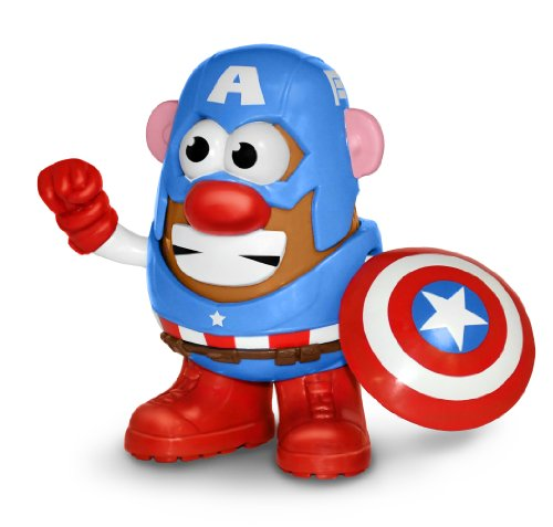Captain+America Products : Mr. Potato Head Captain America Figure