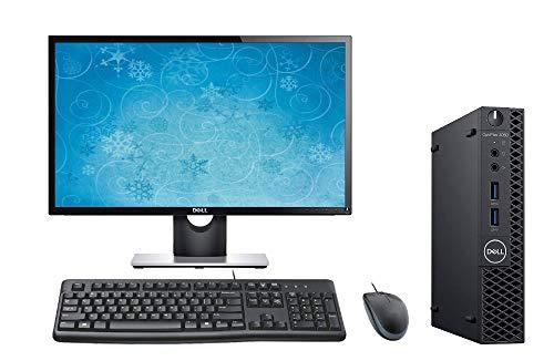 Optiplex 3060 Micro PC Desktop Bundle, 24