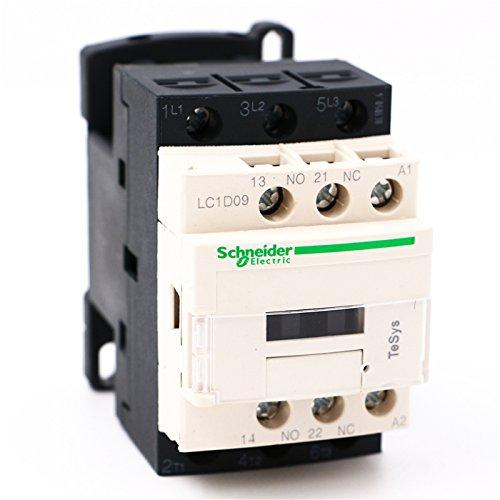 AC Contactor 3P LC1D09 LC1D09G7 LC1-D09G7 9A 120V AC coil by Schneider