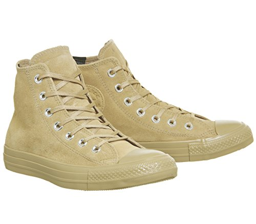 Star Baskets Beige Adulte Core Mode Lea Marron Chuck Hi Taylor Converse Mixte All ntgxwO407q
