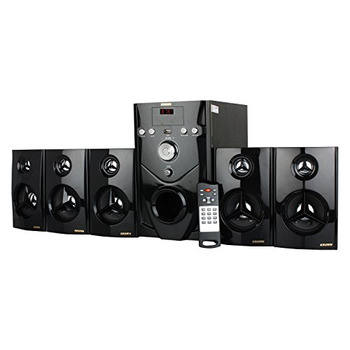 Krown Mini Dj 5 1 Home Theater 5000 Watt Pmpo With Usb & Aux Kdh-11 With  5000W Pmpo