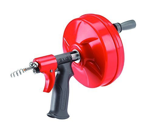 Ridgid 41408 1/4-Inch x 25-Feet Power Spin Drain Cleaner by North Coast Electric