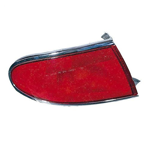 Outer Brake Light Taillight Taillamp Left Driver Side LH for 97-05 Buick Century