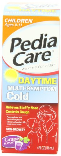 Pediacare Children's Multi-symptom Cold Grape, 4-Ounce